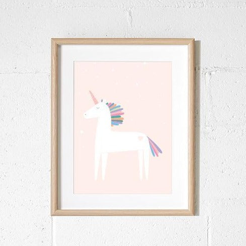 A3 Print - Unicorn Blush