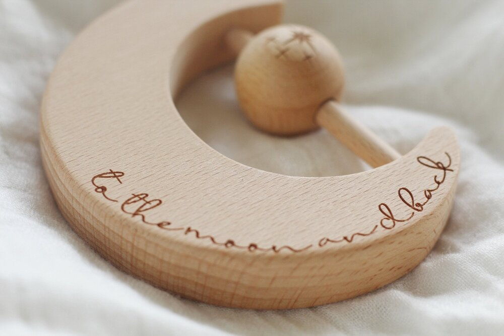 My Eternal Love Keepsake Rattle