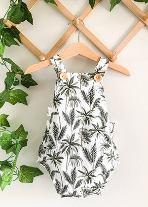Summer Romper - Tropical Palm