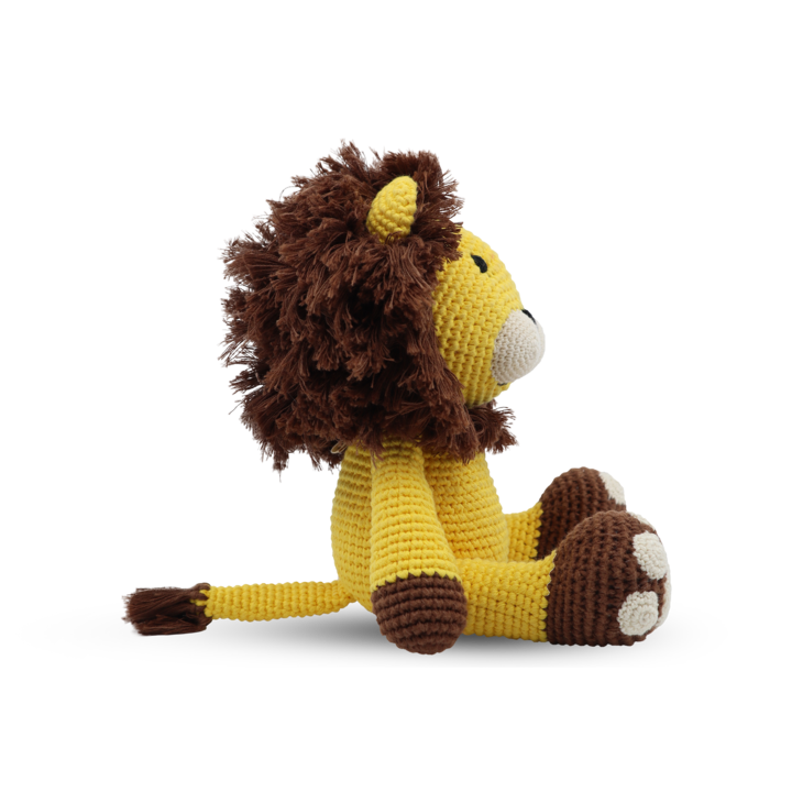 Medium Sitting Toy - Lion