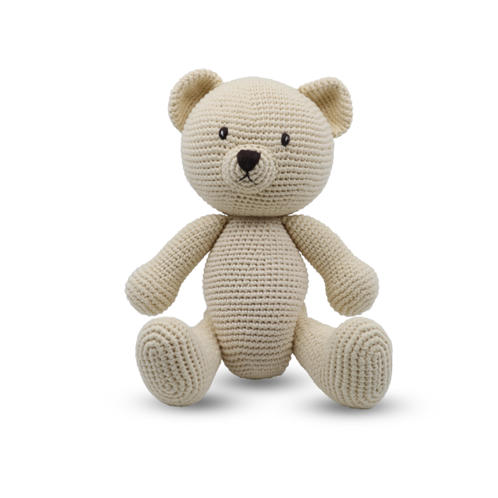 Medium Sitting Toy - Teddy