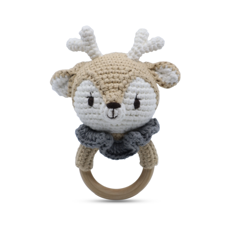 Ring Rattle - Reindeer