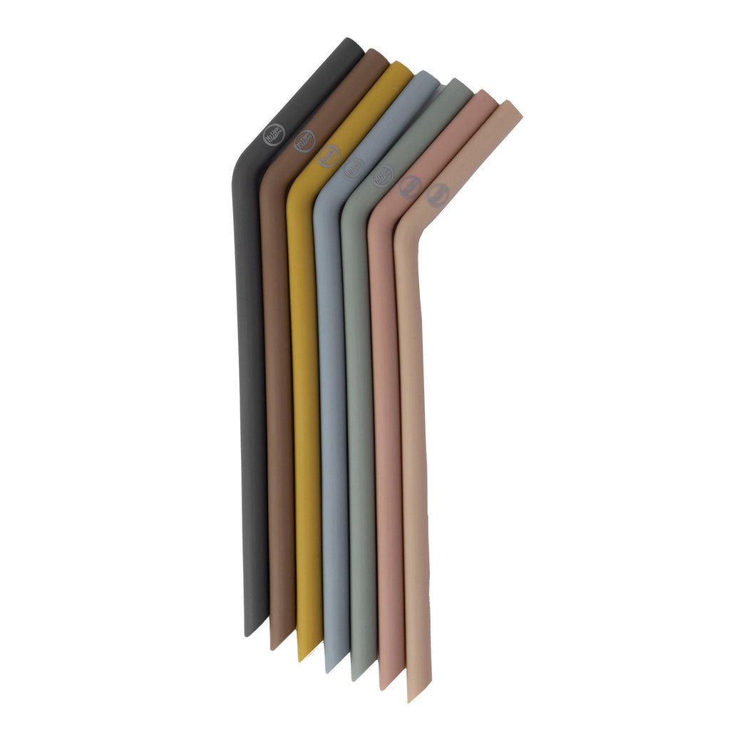 Silicone Straws - Assorted Colours