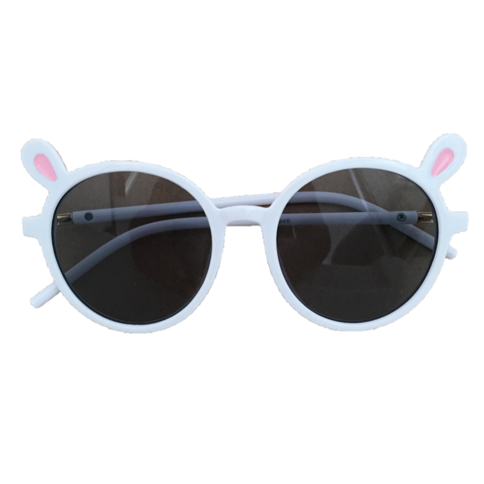 Teddy Sunglasses - White
