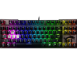MSI Vigor Gaming Cherry MX RGB Silver Switch Keyboard