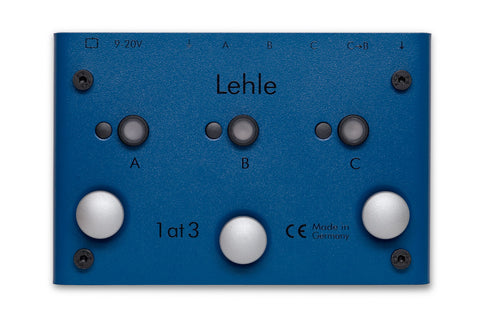 Lehle 1at3 SGoS - Switcher for One Instrument to 3 Amps