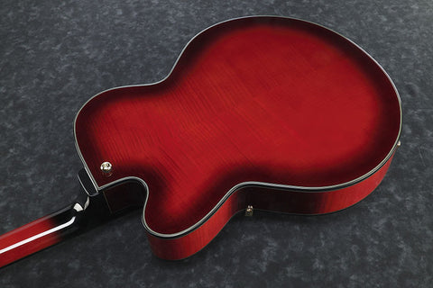 Ibanez Artcore Expressionist AFJ95B SRD - Hollowbody - Sunset Red Finish