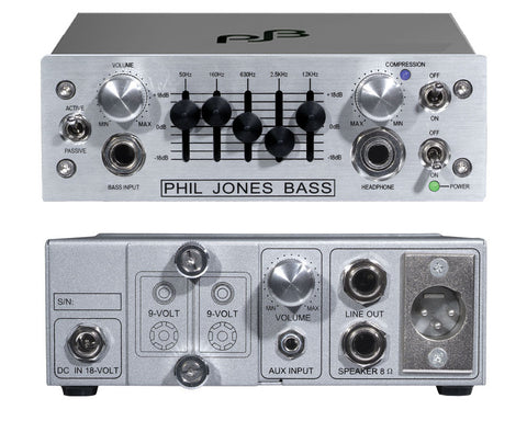 Phil Jones Pure Sound Amp: BB1 Bass Buddy Micro Pre-Amp
