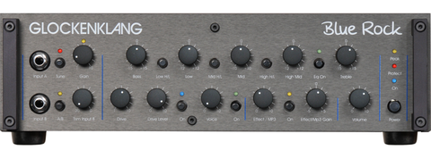 Glockenklang Amp: Blue Rock Bass Head - 1000w
