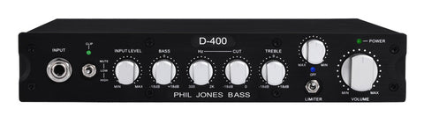 Phil Jones Pure Sound Amp: D-400 Bass Amplifier - 400w