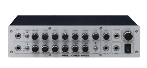 Phil Jones Pure Sound Amp: D-600 Bass Amplifier - 600w