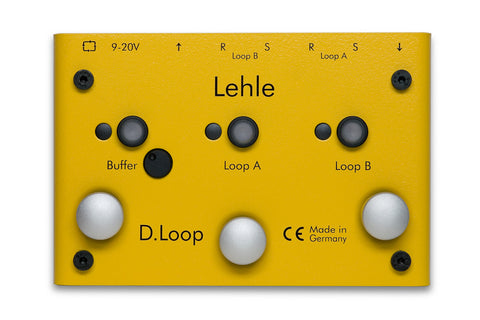 Lehle D.Loop SGoS - 2 Channel Effect-loop/Switcher w/ High End Buffer Amp