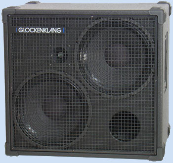 "Glockenklang Cab: Double 2x12"" Bass Cabinet - 500w"
