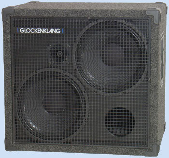 "Glockenklang Cab: Double Light 2x12"" Bass Cabinet - 500w"