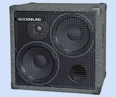 "Glockenklang Cab: Double Art Light 2x12"" Bass Cabinet - 500w"
