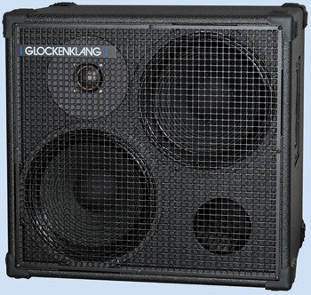 "Glockenklang Cab: Double Art 2x12"" Bass Cabinet - 500w"