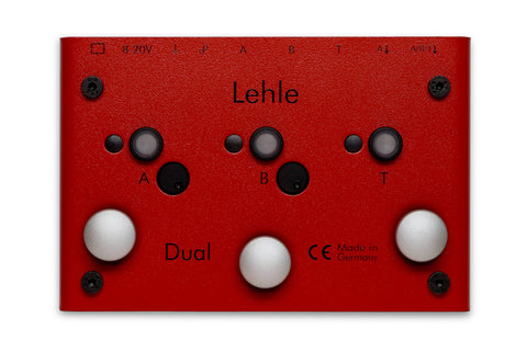 Lehle Dual SGoS - Dual Amp Switcher w/ LTHZ Transformer & Gain Reduction