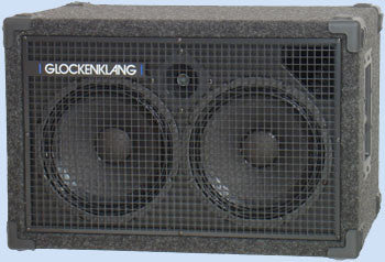 "Glockenklang Cab: Duo Light 2x10"" Bass Cabinet - 400w"
