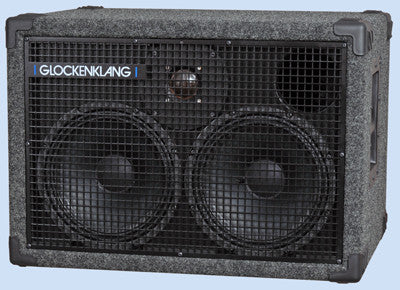"Glockenklang Cab: Duo Art Light Neo 2x10"" Bass Cabinet - 400w"