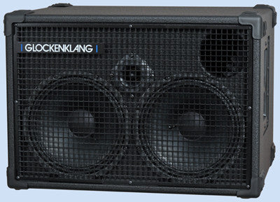 "Glockenklang Cab: Duo 2x10"" Bass Cabinet - 400w"