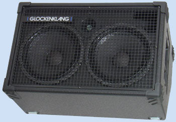 "Glockenklang Cab: Duo Wedge 2x10"" Bass Cabinet - 400w"