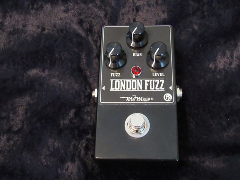 MJM London Fuzz w/ Bias Control - Germanium Fuzz Pedal