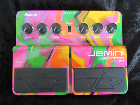 Ibanez Jemini Dual Distortion Pedal - Steve Vai Limited Edition Signature Model