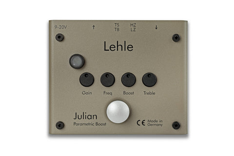 Lehle Julian - Buffered Line Driver/Booster + Switch + EQ + Multi-input Impedance