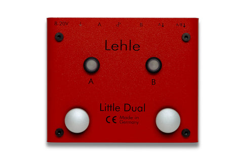 Lehle Little Dual - Dual Amp Switcher with LTHZ Transformer