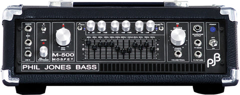 Phil Jones Pure Sound Amp: M-500 Bass Amplifier - 950w