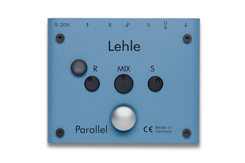 Lehle Parallel L - Compact Line Mixer w/ Adjustable Send, Return, & Mix & On/Off Switch