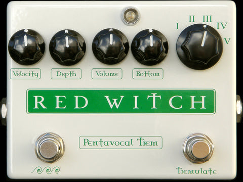 Red Witch Pentavocal Trem - 5-Voice Tremolo Pedal