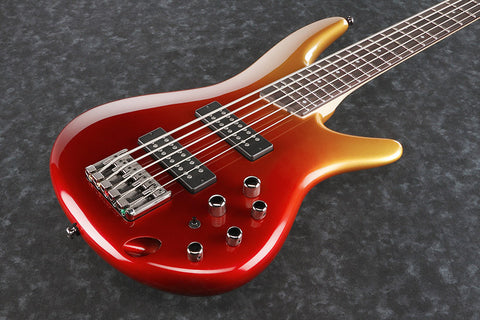 Ibanez SR305E AFM - 5-string Bass - Autumn Fade Metallic Finish
