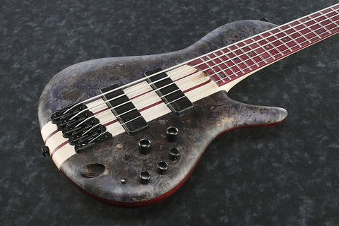 Ibanez Bass Workshop SRSC805 DTF - SR Single Cut - 5-string Bass - Deep Twilight Flat Finish