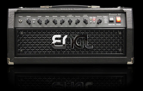 Engl Amp: Screamer 50 E335 Head w/ Reverb - 5881