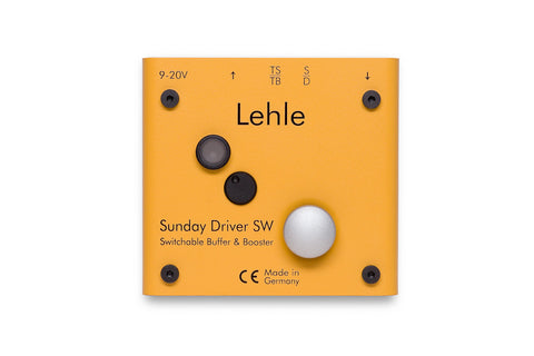 Lehle Sunday Driver SW - Buffered Line Driver/Booster + On/Off Switch