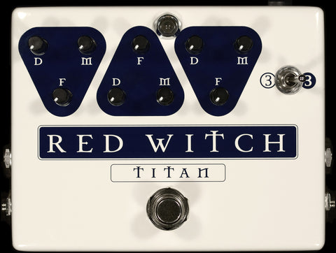 Red Witch Titan - Dual Delay Pedal