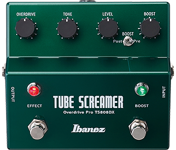 Ibanez TS808DX Overdrive Pro - Tube Screamer w/ Booster