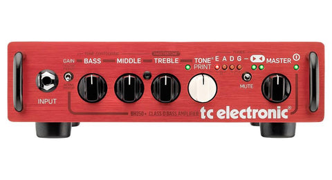 TC Electronic BH250 TonePrint Enabled Micro Bass Head - 250w