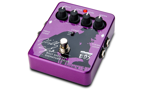 EBS Billy Sheehan Signature Drive - Compressor / EQ / Overdrive Pedal