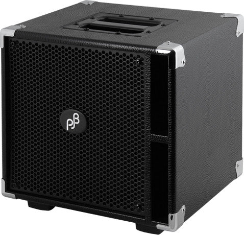 "Phil Jones Pure Sound Cab: Neo Power C4-L Compact 4 Lite Bass Cabinet - 4x5"" / 400w"