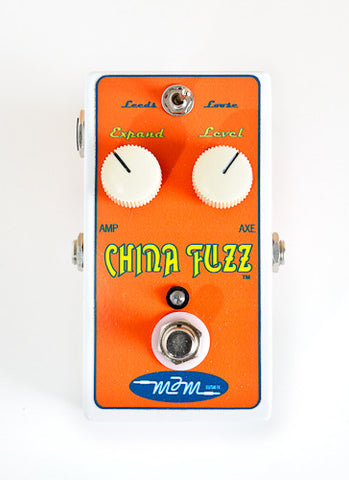 MJM China Fuzz - Replica of Univox Superfuzz Pedal