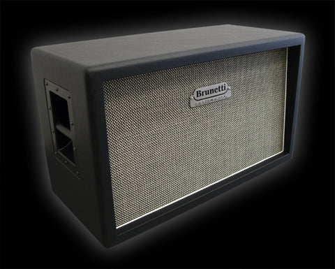"Brunetti Cab: Customwork 2x12"" Dual Cabinet w/Celestion Speakers"