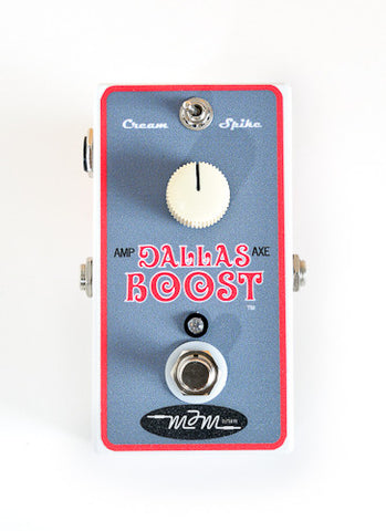 MJM Dallas Boost - Boost Pedal