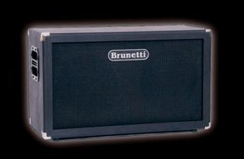 "Brunetti Cab: Dual 2x12"" Cabinet w/Celestion Vintage 30 Speakers"