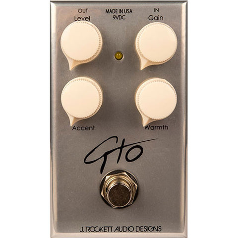 J. Rockett GTO Overdrive Pedal (Guthrie Trapp Signature Model)