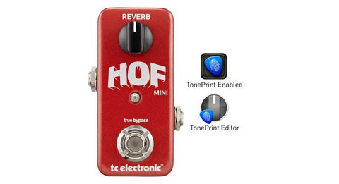 TC Electronic Hall of Fame Mini Reverb Pedal - TonePrint Enabled