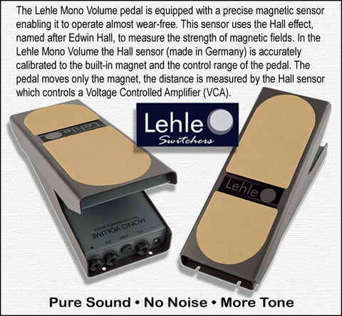 lehle mono volume pedal guitarx. Black Bedroom Furniture Sets. Home Design Ideas