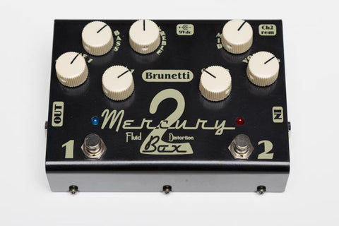 Brunetti Mercury 2 Box - Overdrive/Distortion