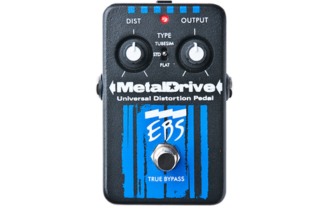EBS MetalDrive High Gain Distortion / Overdrive Pedal